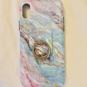 Velvet caviar iPhone X case